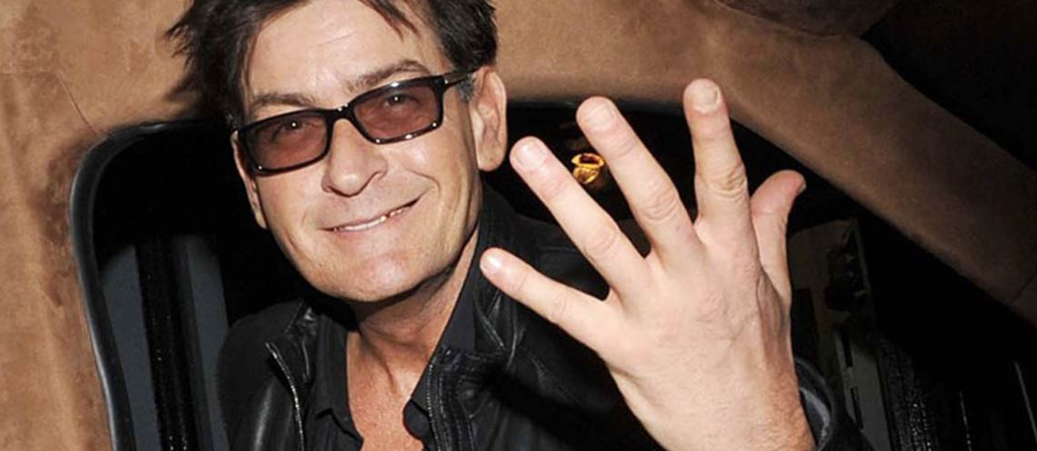 Le star di Hollywood tremano, Charlie Sheen malato di AIDS